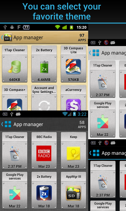AppMgr Pro III (App 2 SD) - screenshot