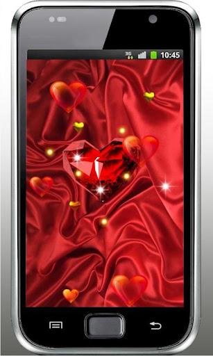 Lovely Heart HD Live Wallpaper
