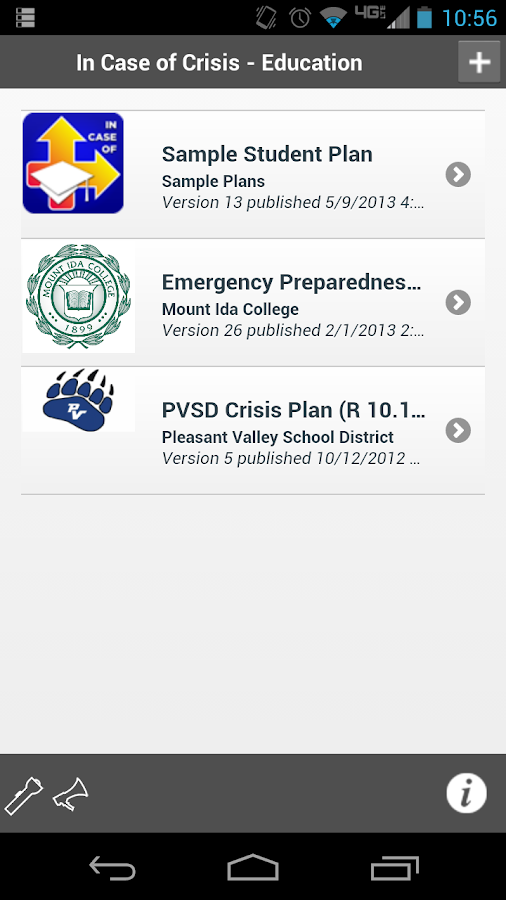 In Case of Crisis - Education - screenshot