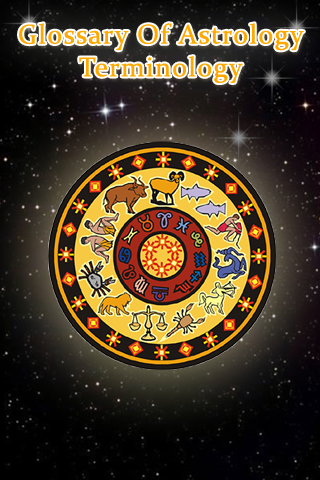 Glossary of Astrology