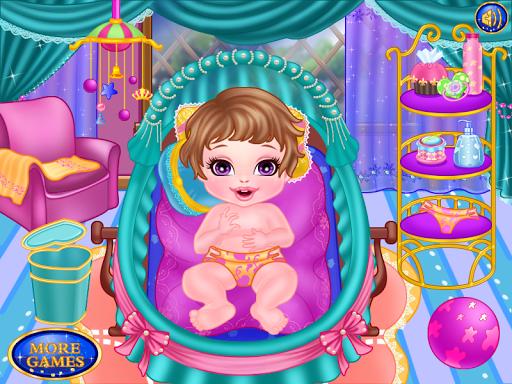 淘氣寶寶女孩遊戲