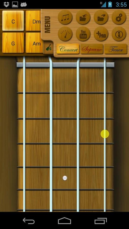 Play Ukulele - screenshot