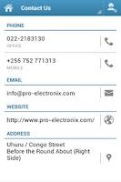 Screenshot of Pro ElectroniX