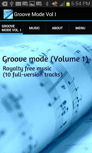 Groove Mode Vol I