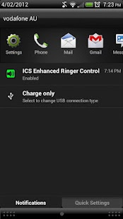 ICS+ Enhanced Ringer Control - screenshot thumbnail