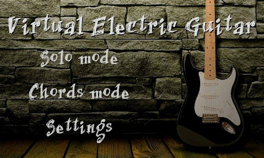 Virtual Electric Guitar - screenshot thumbnail
