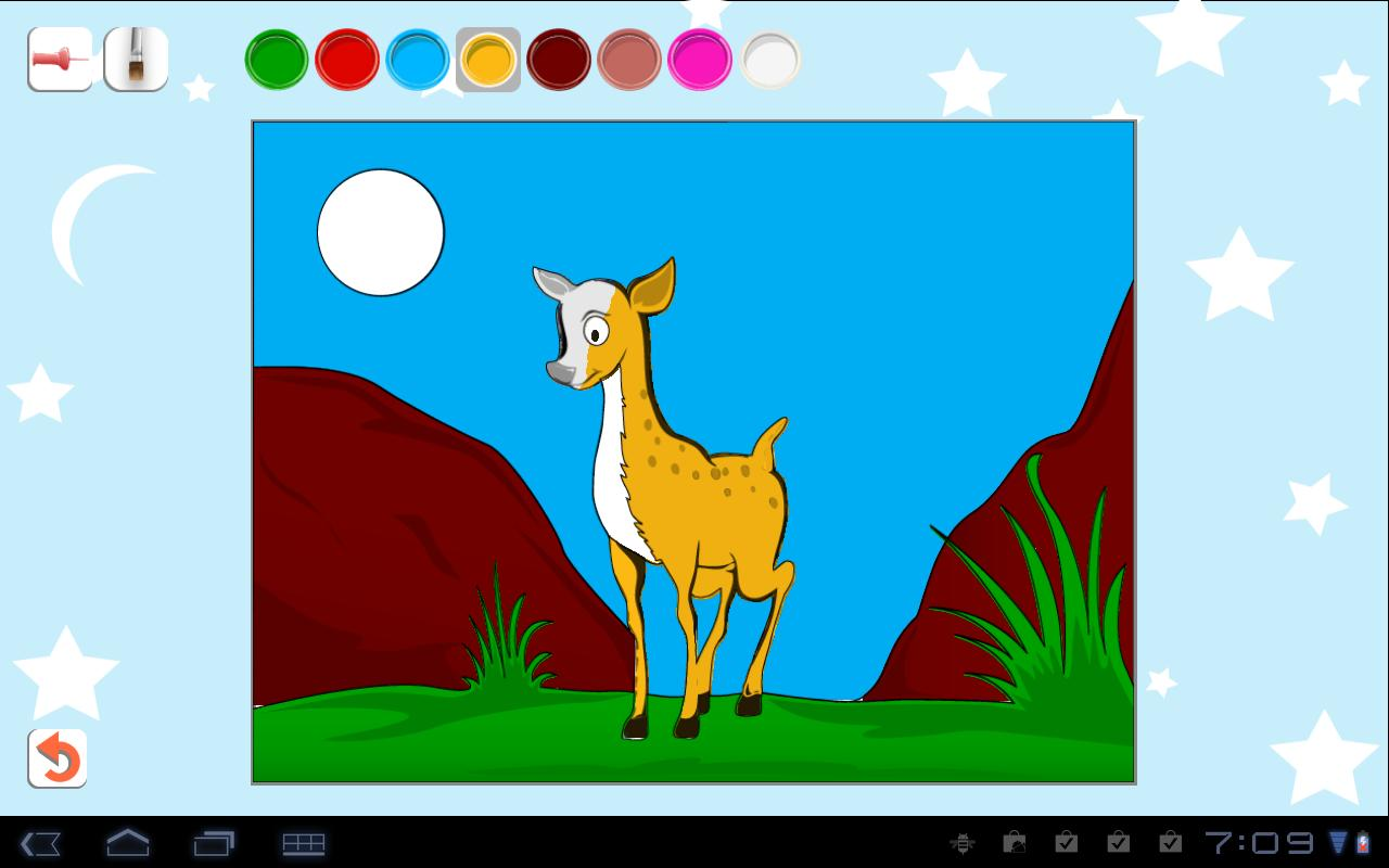 Kids Paint Color Lite Screenshot