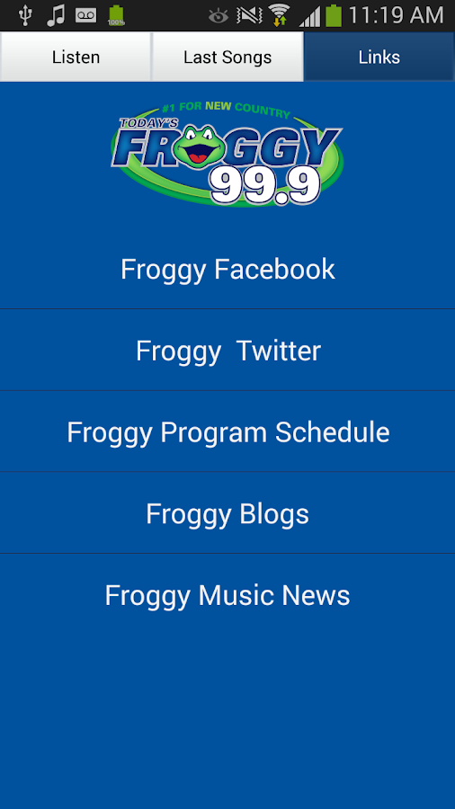 Today's Froggy 99.9 - KVOX-FM- screenshot