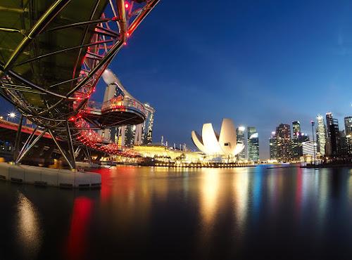Under the bridge by Barry Allan - City,  Street & Park  Night