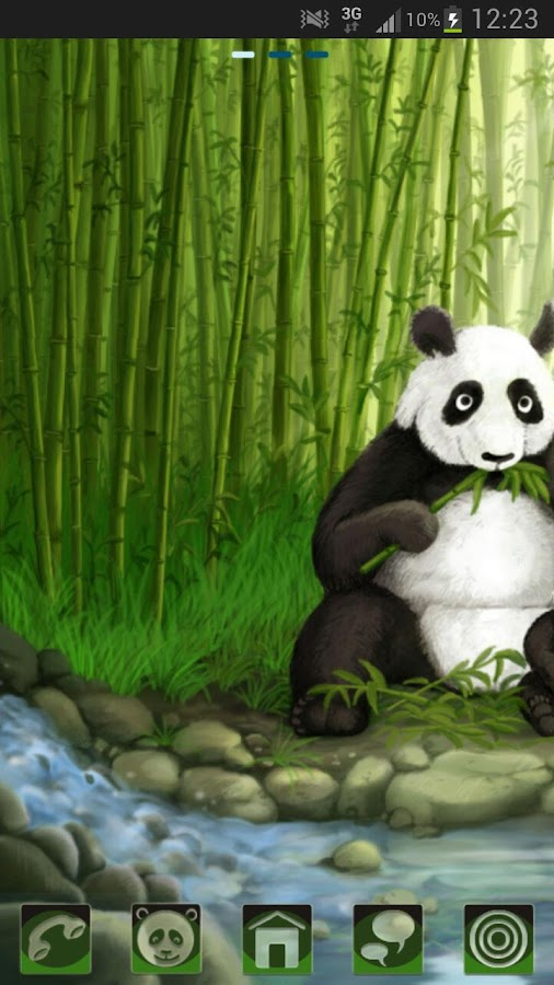 GO Launcher EX Theme Panda - screenshot