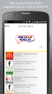 FM Talk 100.5- screenshot thumbnail