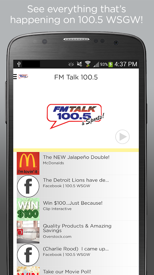 FM Talk 100.5- screenshot