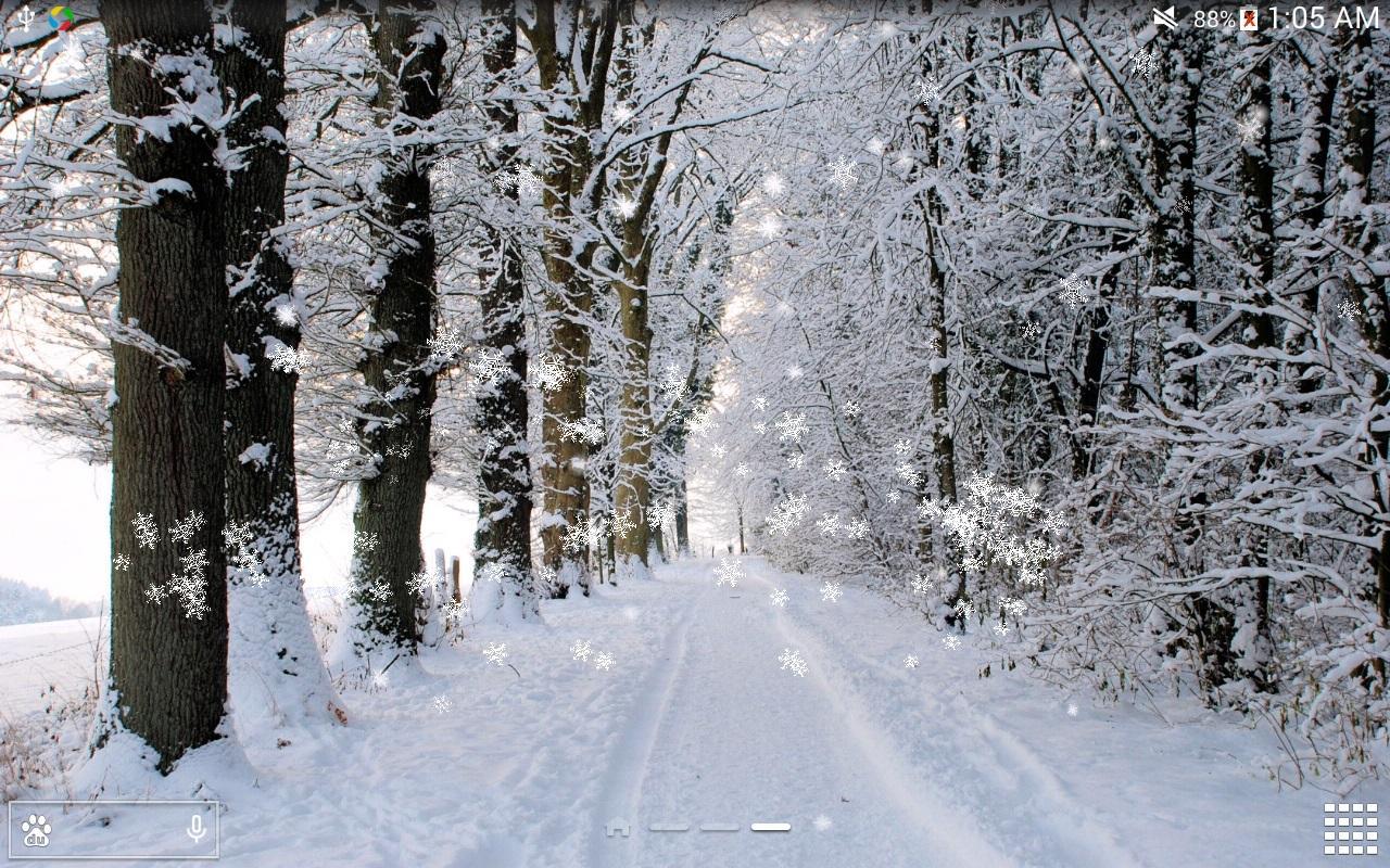 Inverno neve live wallpaper hd app android su google play for Sfondi gratis desktop inverno
