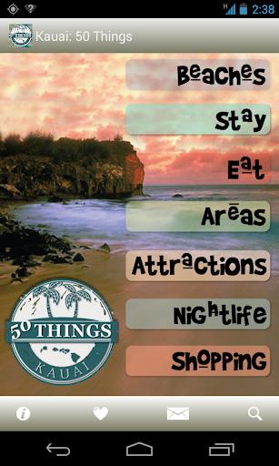 Kauai: 50 Things