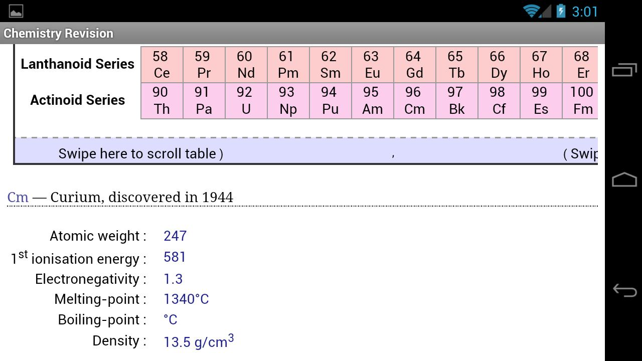 Revision Chemistry- screenshot
