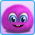 Pink Fluffy Ball icon