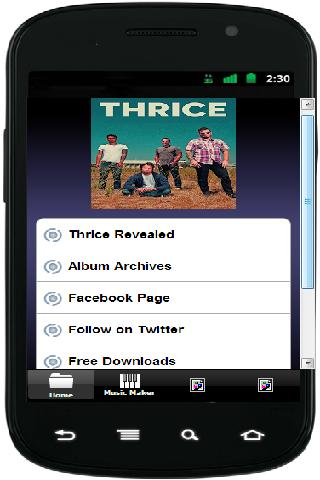 【免費娛樂App】Thrice Released-APP點子