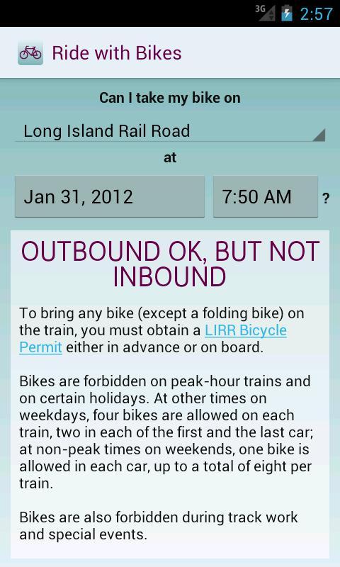 Ride with Bikes- screenshot