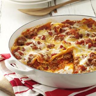 One Skillet Lasagna