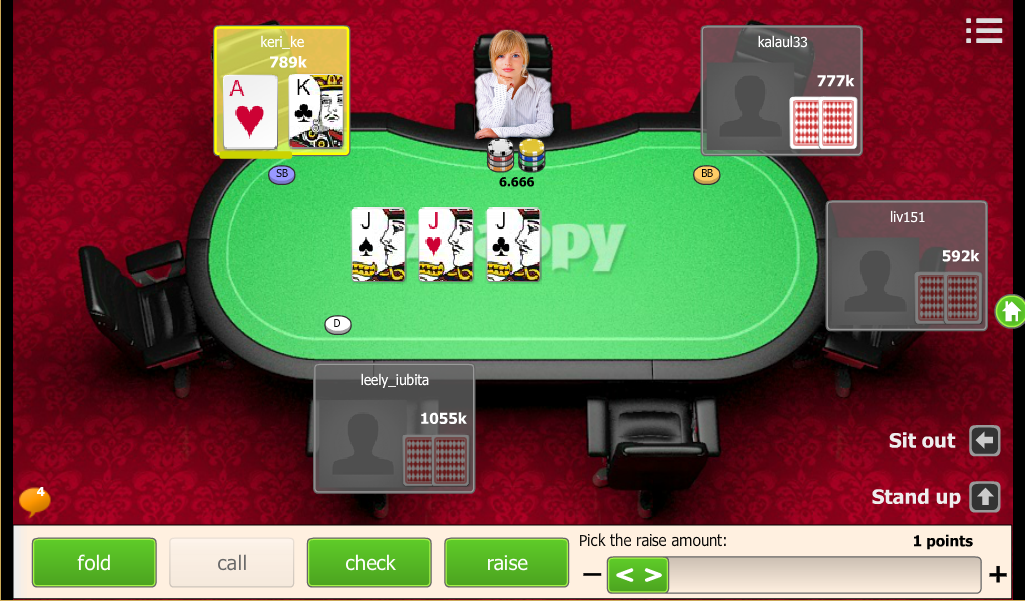 Holdem Znappy- screenshot