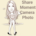 Share Moment Camera Photo icon