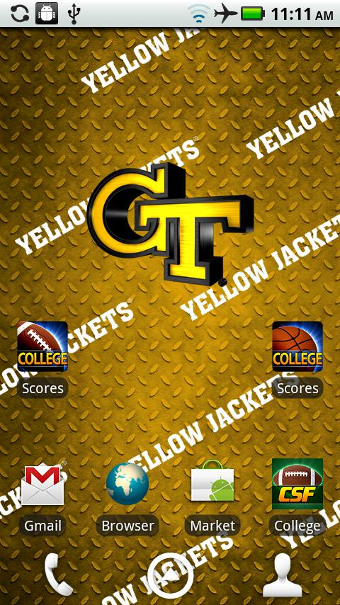 Georgia Tech Live Wallpaper HD - screenshot