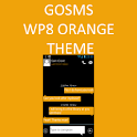 GO SMS WP8 Orange Amber Theme