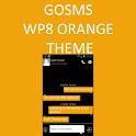 GO SMS WP8 Orange Amber Theme icon