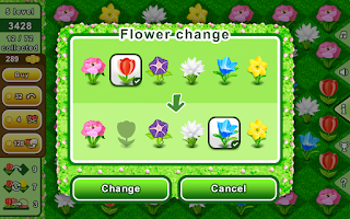 Screenshot of Bouquets - puzzle flowers game
