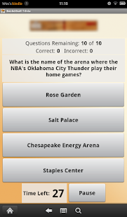 Basketball Trivia - screenshot thumbnail