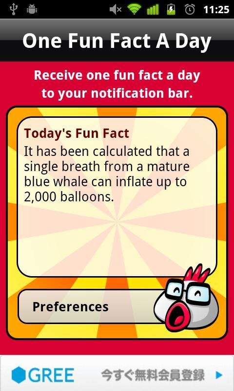 One Fun Fact A Day- screenshot