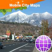 Flagstaff AZ Street Map