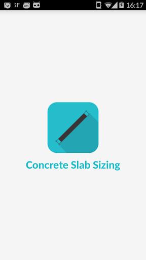 Concrete Slab Sizing