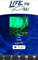 Screenshot of LIFE-FM 88.1 KLFC