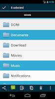 Screenshot of Discoverer(Linda File Manager)