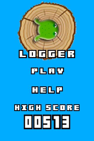 Logger Frog