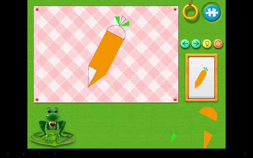 【免費教育App】专为幼儿设计的形状与谜语 - 磁力图形-APP點子