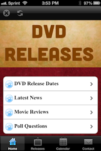 DVD Release Dates