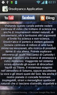 Orsobyanco Applicazione - screenshot thumbnail