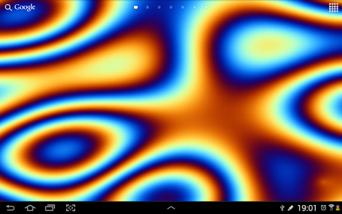 Plasma Fluid Live Wallpaper