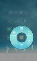 Screenshot of Fairy Ice LINE Launcher theme