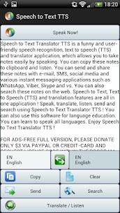 Speech to Text Translator TTS v3.1.4 [Mod] APK 3