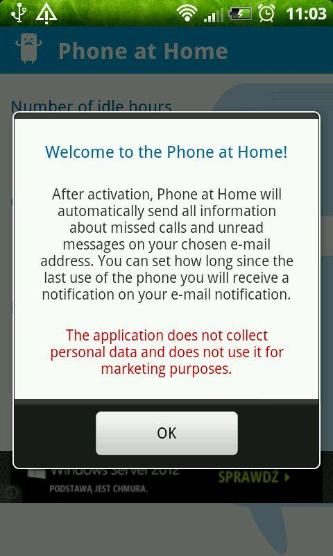 Phone at Home - screenshot
