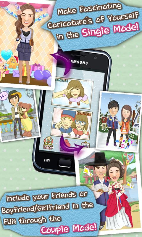 Caricature Maker Pro - screenshot