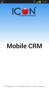 ICON CRM - náhled