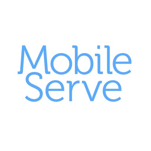 MobileServe LOGO-APP點子