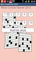 Screenshot of Crosswords 02