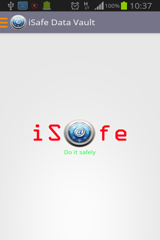 iSafe Password Manager