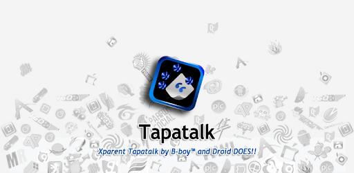 Xparent Tapatalk Blue 2.4.1