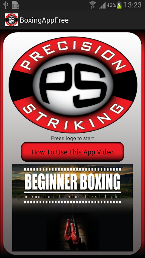 Precision Boxing Coach Free- screenshot